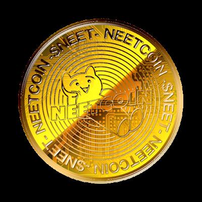 ニートコインのフリー素材(金貨ver)