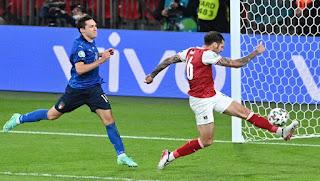 Πρόκριση-θρίλερ στην παράταση με 2-1 για την Ιταλία επί της Αυστρίας