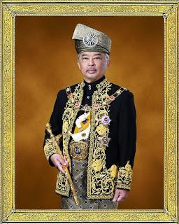 Pertabalan Tengku Abdullah Sultan Pahang sebagai Agong ke-16