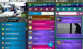 BBM Mod Full Color V3.3.1.24 Apk (BBM Disco)