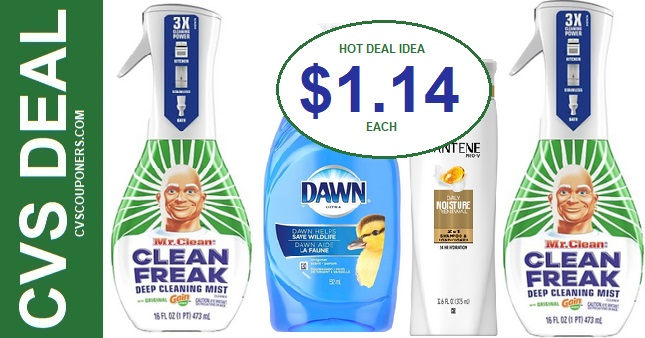 Mr. Clean Freak Mist Deal at CVS 7-5-7-11