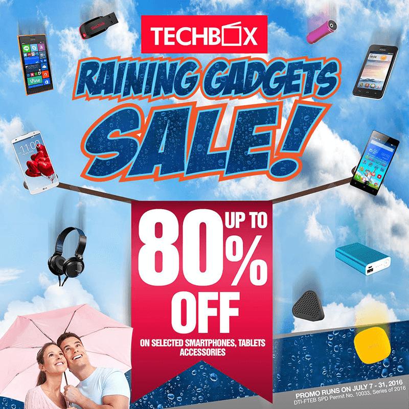 TECHBOX Raining Gadget Sale Announced, Get 80% Off On Several Big Brands!