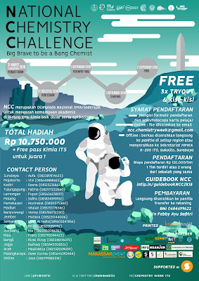 Olimpiade National Chemistry Challenge (NCC) di ITS