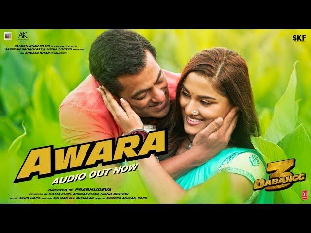 Awara Lyrics - Salman Ali Muskan - Slaman Khan