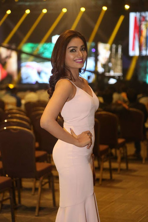 Aishwarya Devan at Rogue Audio Launch