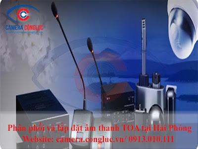 Cung cấp và lắp đặt hệ thống âm thanh thông báo tại Hải Phòng.