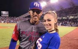 Carlos With His Wife