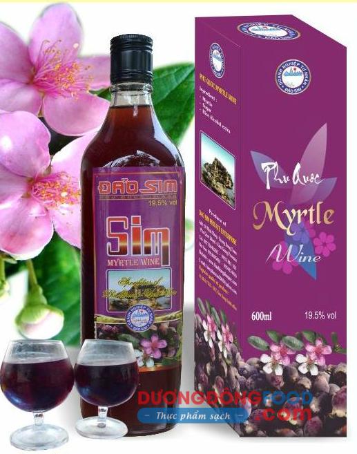 Rượu sim Đảo Sim