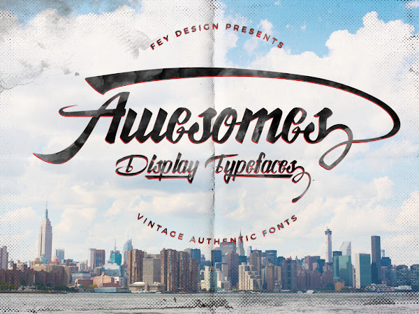 Download Awesome Display Font Free