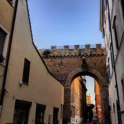 Vicolo del Campanile Passetto di Borgo