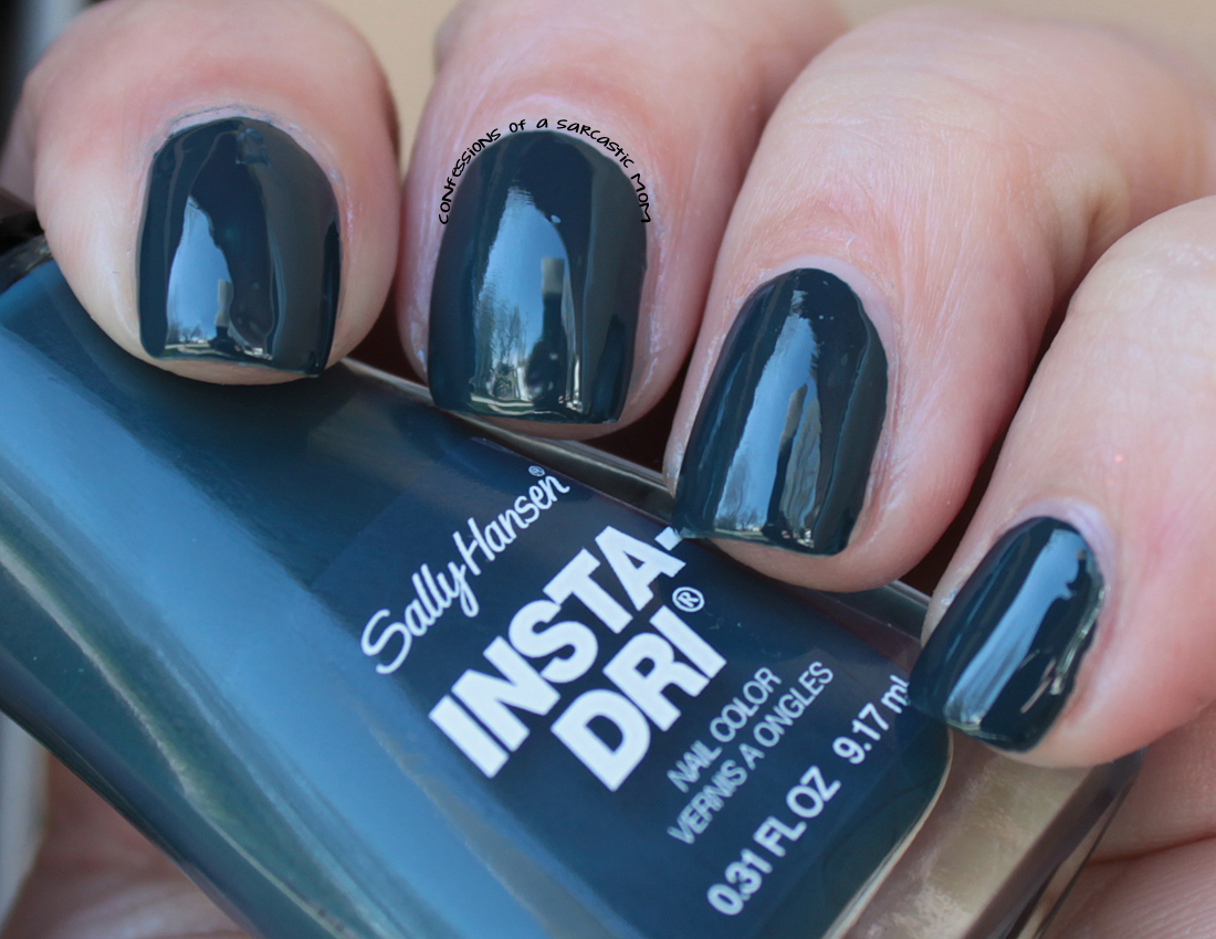 New Sally Hansen Insta-Dri polishes with some nail art ...