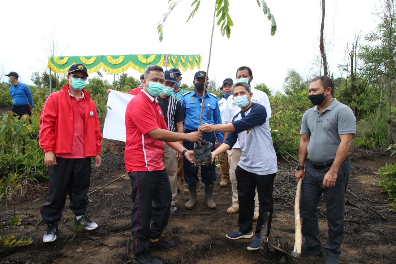 Tanam 500 Pohon, BP Batam dan Jasa Raharja Kompak Hijaukan Batam