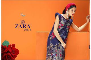 Shree Fab Zara vol 4 georgette pakistani Suits wholesaler