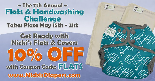 Flats Challenge Sales Cloth Diaper Revival