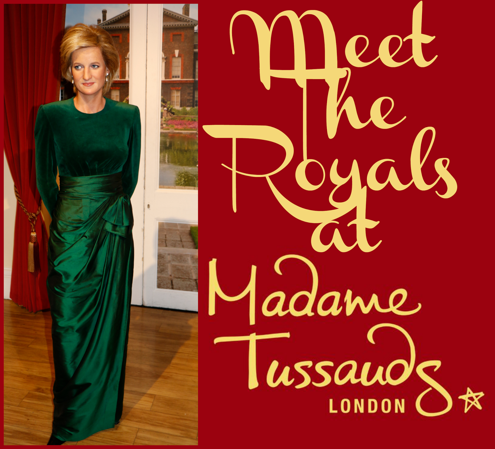 Meet the royals at madame tussauds london annmarie john