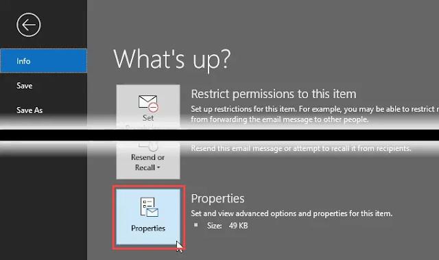 كيفية معرفة الموقع المرسل منه البريد الإلكتروني عبر عنوان IP