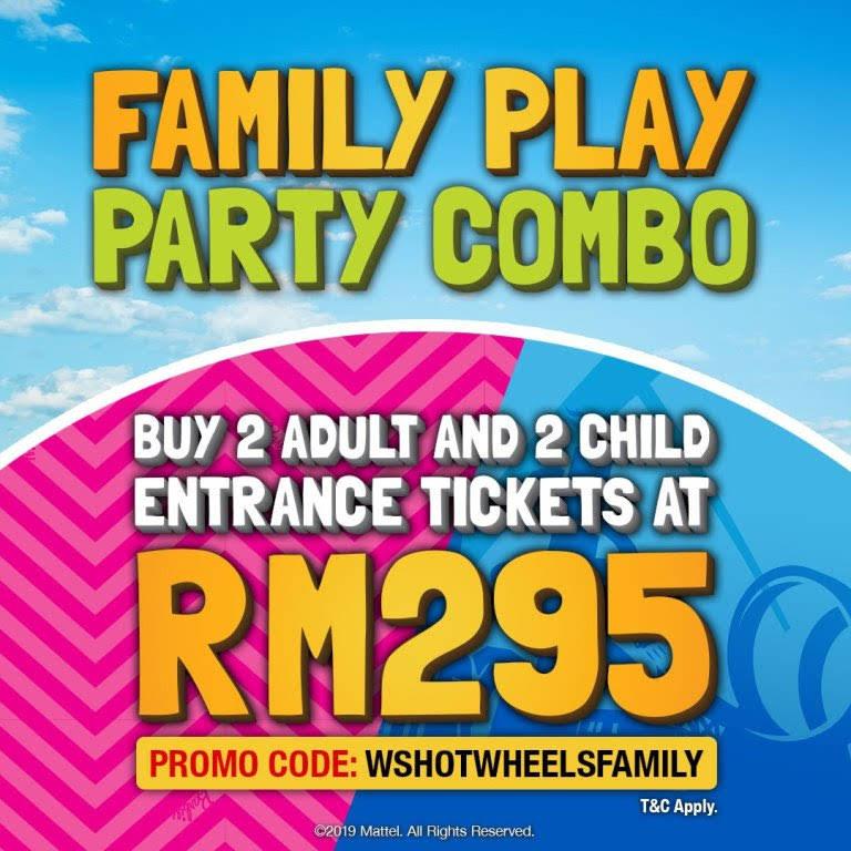 Family Party Combo RM295 Lost World of Tambun