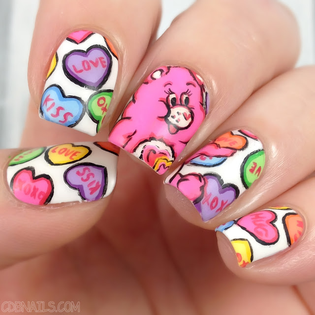 CDBnails-Carebear Nails