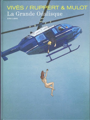 La Grande Odalsique aux éditions Dupuis couverture