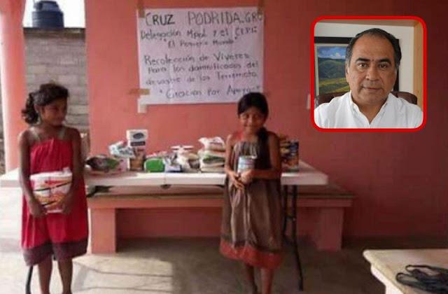 Jóvenes de Guerrero se organizan para ayudar a víctimas, ante la falta de ayuda del Gobierno.