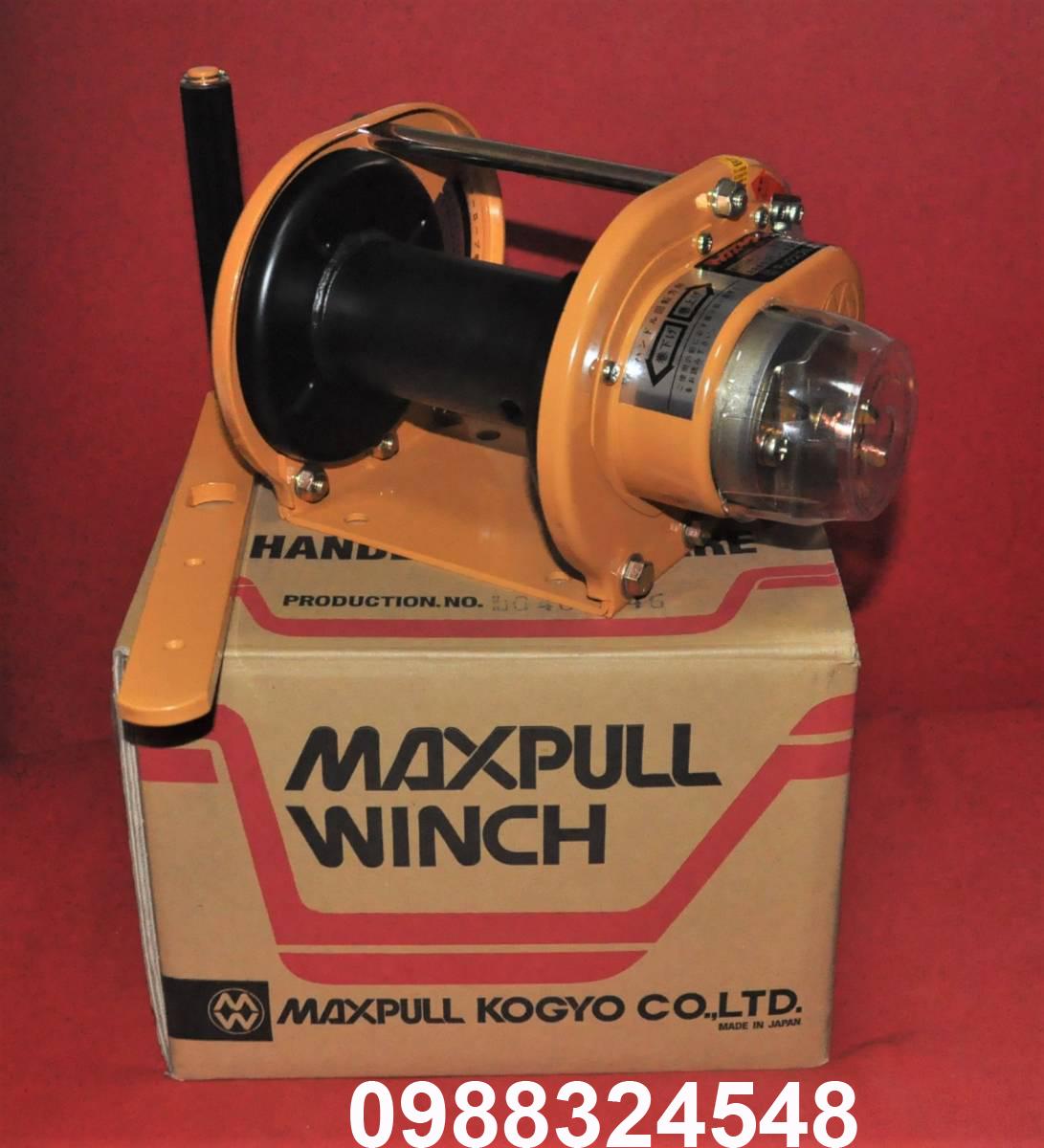 Tời quay tay Maxpull GM-1-SI 100kg
