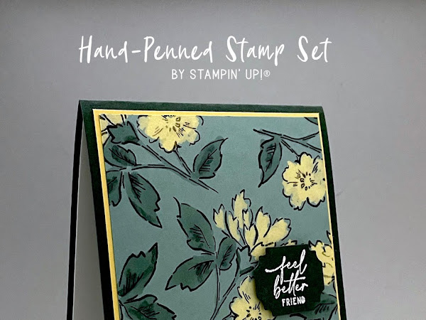 VIDEO: Card Bleaching Technique with Hand-Penned Stamp Set