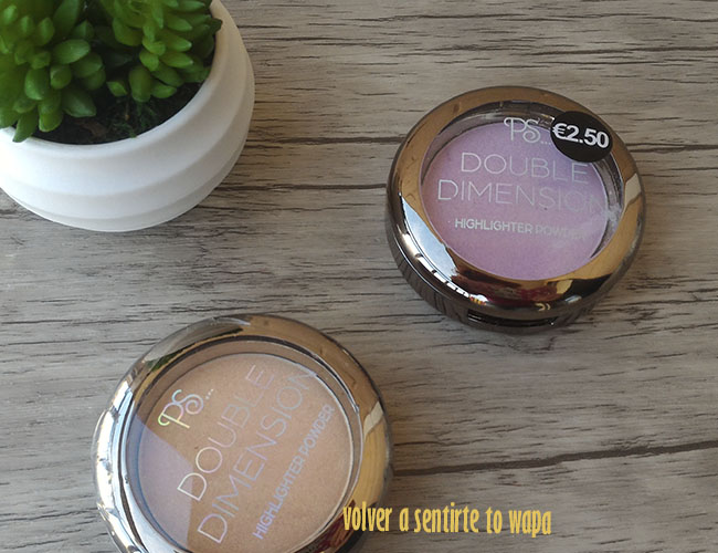 Iluminadores Double Dimension de Primark