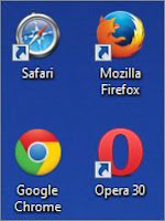 Разные браузеры Интернета