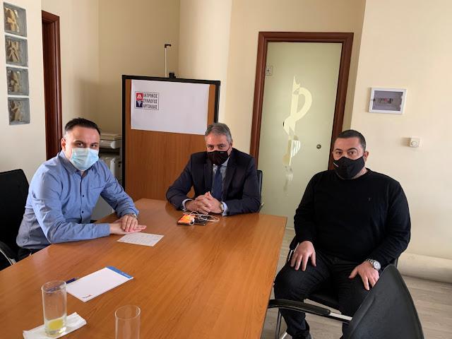 Συνάντηση του Ιατρικού Συλλόγου Αργολίδας με τον Διοικητή της 6ης ΥΠΕ  Ιωάννη Καρβέλη