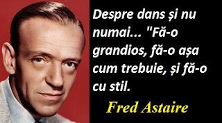 Citatul zilei: 10 mai - Fred Astaire