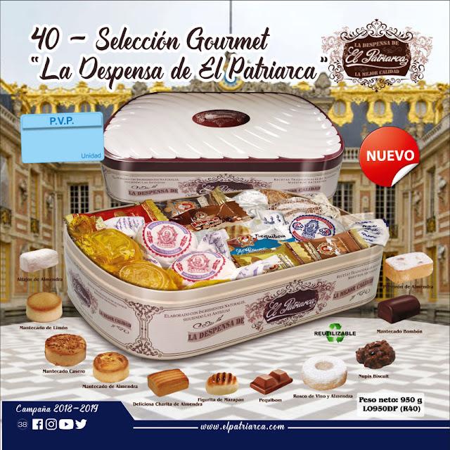 nº40 Selección Gourmet La Despensa de El Patriarca 950 g - Comercial H Martin sa