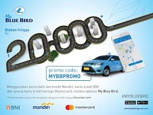 Promo Blue Bird, Diskon Hingga Rp.20.000 / Trip