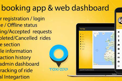 Download Taxi booking app & web dashboard, complete solution v2.0.1