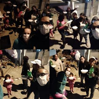 Projeto Social Equipe Filhotes - Entrega Marmitas Noturna
