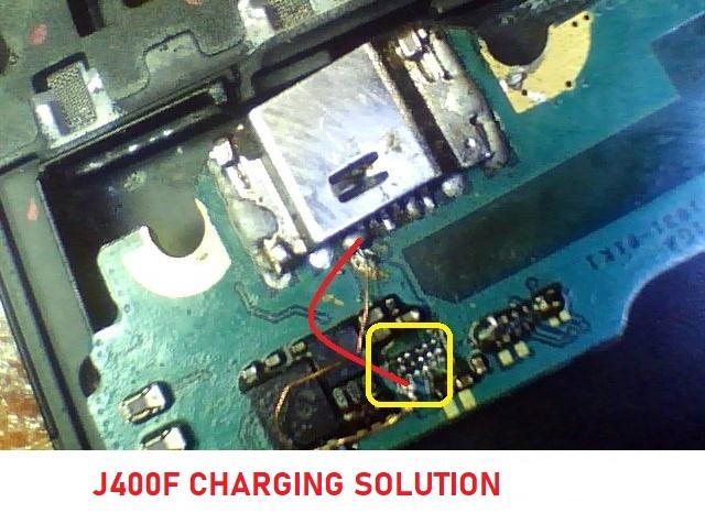 Samsung j400f charging ic ways