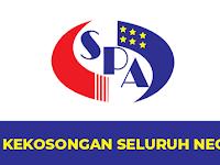 Jawatan Kosong di Perkhidmatan Awam Malaysia - 215 Kekosongan Seluruh Negeri