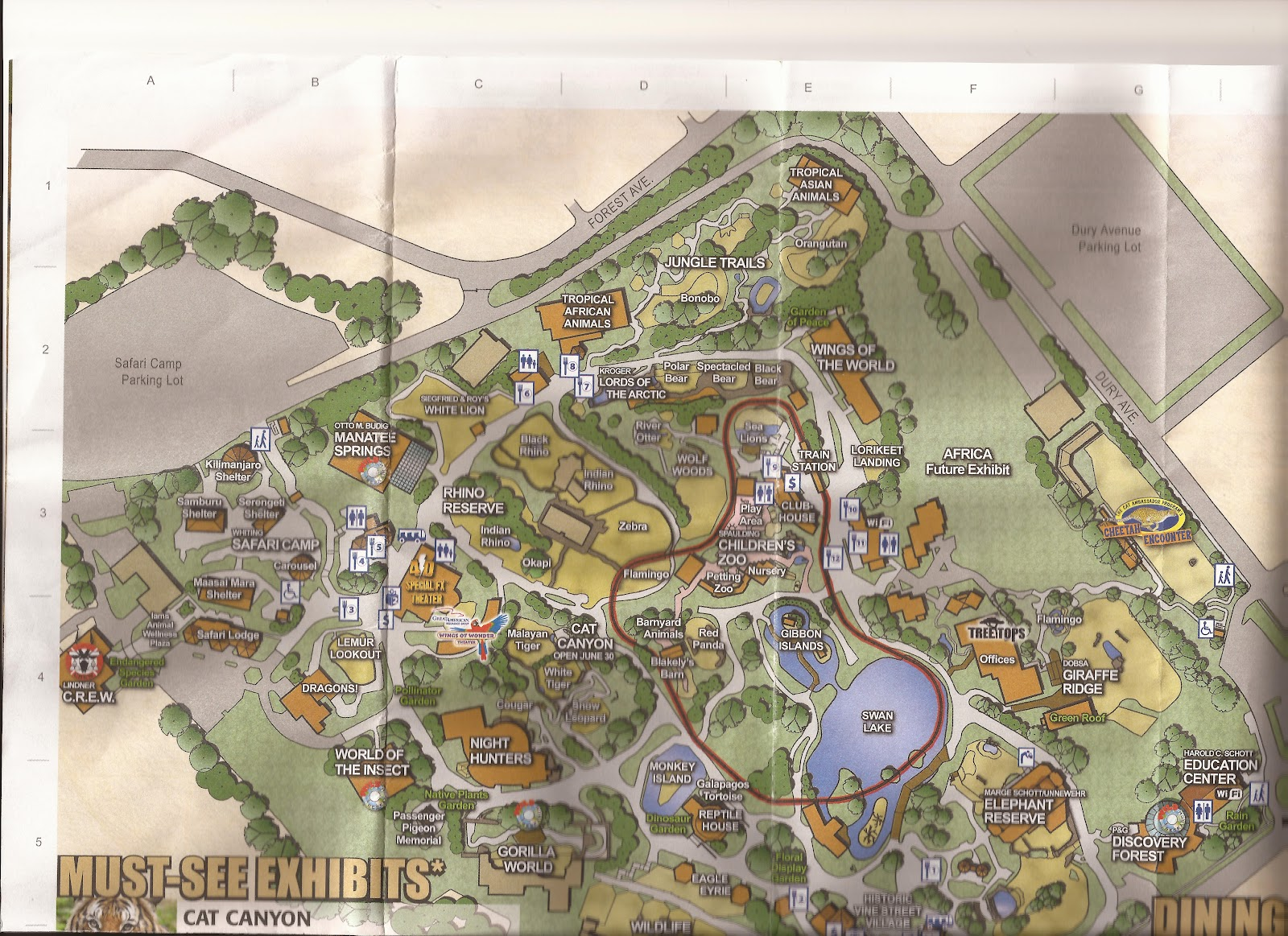 Zoo Tails: Zoo Maps on jacksonville zoo map, mold map, clearwater marine aquarium map, lion country safari map, jungle island map, universal orlando map, san diego zoo park map, mi-am zoo on map, changi airport terminal 1 map, party city miami map,