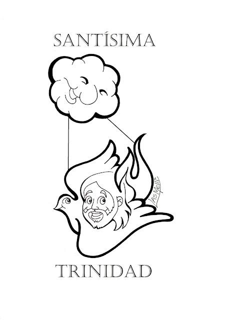 DIBUJO: Santísima Trinidad