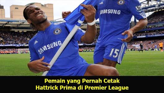 Pemain yang Pernah Cetak Hattrick Prima di Premier League