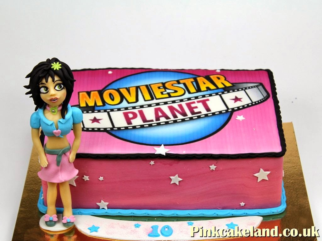 Moviestar Planet Birthday Cake, London