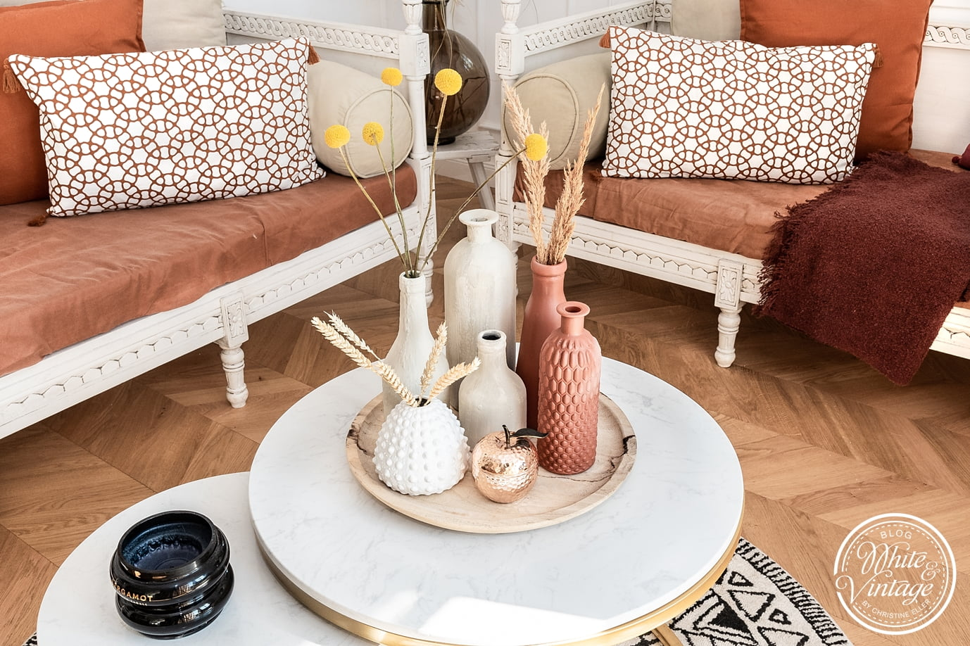 Trash to Terracotta - Upcycling Vasen