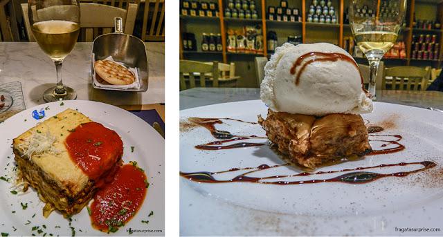 Restaurante grego Dionisos, em Chueca, Madri