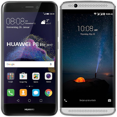Huawei P8 Lite (2017) vs ZTE Axon 7 Mini