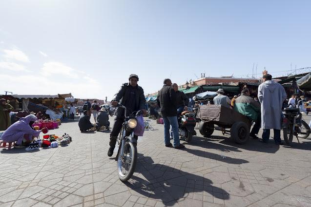 Piazza Djemaa El Fna-Marrakech