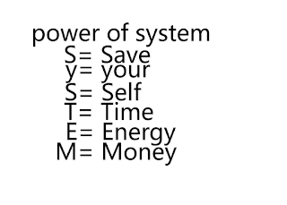 power of system - value of system