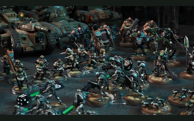 Bandejas de movimiento Warhammer 40,000