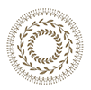 Spellbinders glimmer plate - CIRCLE PATTERN