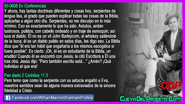Así luce el diablo - William Branham en Español