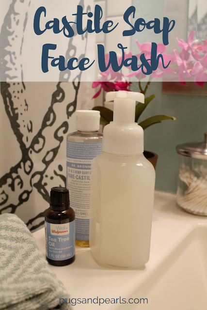 DIY Castile Soap Face Wash Recipe