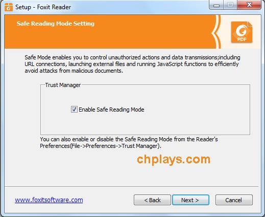 Cài đặt Foxit Reader Full mới nhất trên máy tính 6